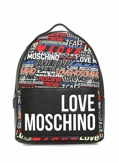 Love Moschino Sırt Çantası Renkli